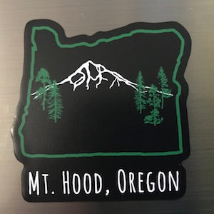 Mt Hood Oregon Magnet