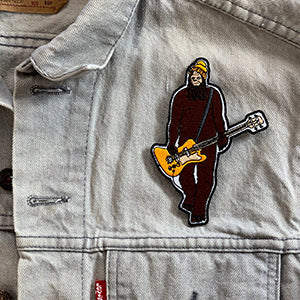 Mr Big On Bass Iron-On-Patch