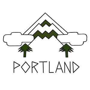 Mt Hood Portland Temporary Tattoo