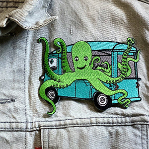 Octo Taco Iron-On-Patch