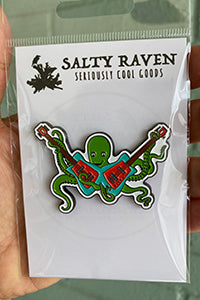 Octo Rocks Lapel Pin
