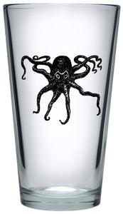 Octopus Pint Glass