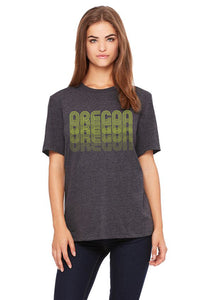 Oregon Fade T-Shirt - Women's Dark Gray Heather