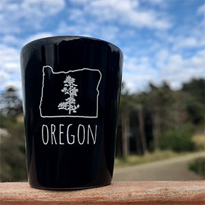 Oregon Pine Shot Glass