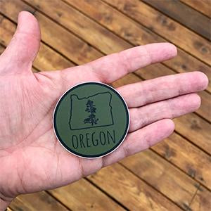 Oregon Pine Vinyl Stickers