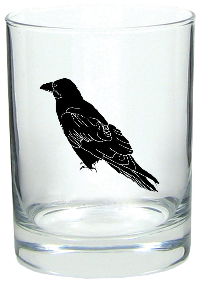 Perched Raven Rocks Glass