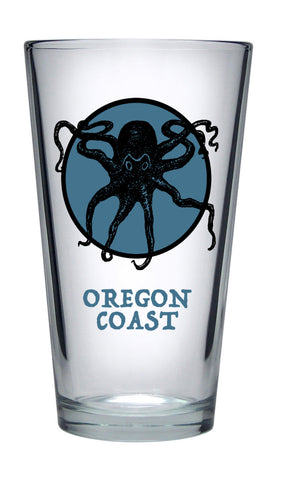 Oregon Coast Pint Glass
