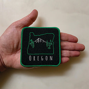 Mt Hood Oregon Iron-On-Patch