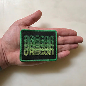 Oregon Fade Iron-On-Patch