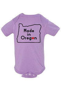 Made In Oregon One Piece - Infant Lavender