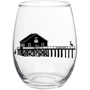 Boathouse Stemless Wine Glass