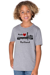 Made In Portland T-Shirt  - Toddler Granite Heather