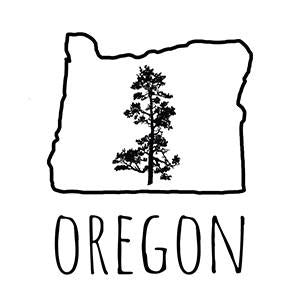 Oregon Pine Temporary Tattoo