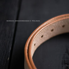 Carregar imagem no visualizador da galeria, The Raw Leather Belt ( PRÉ VENDA)