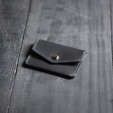 "Carregar imagem no visualizador da galeria, Carteira Mini Pouch ""Speedster"" Double Pocket - All Black"