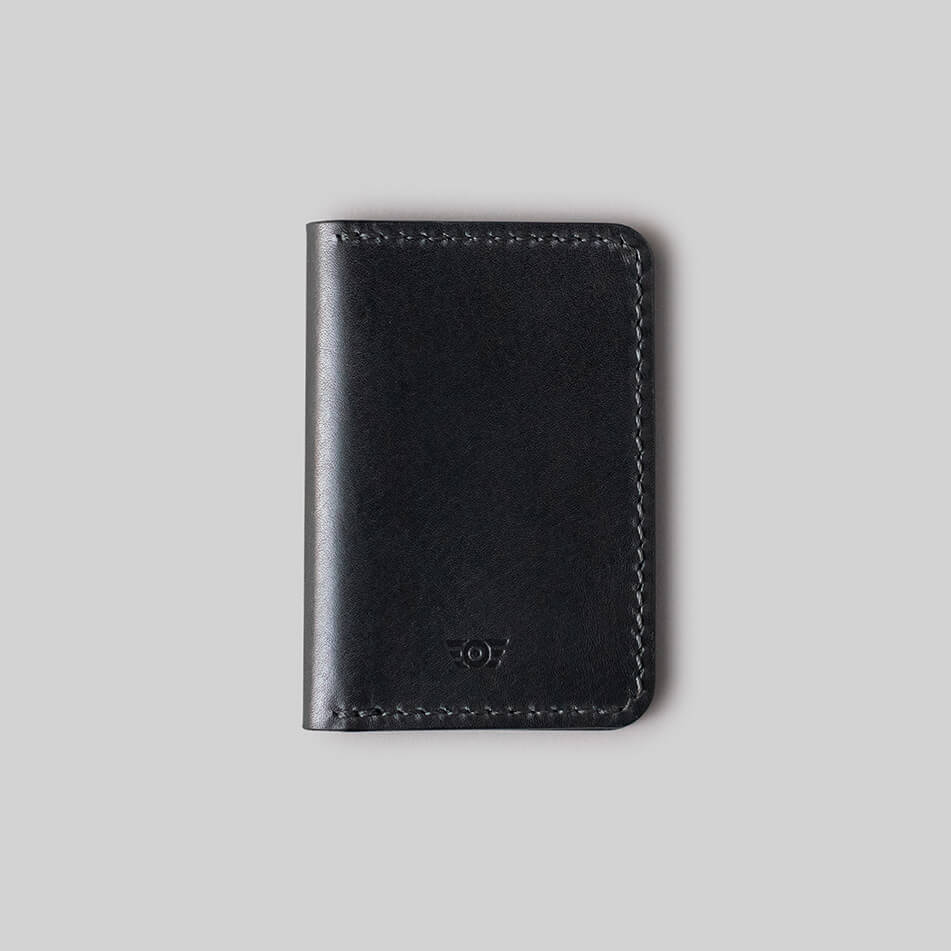 "Carteira Bifold ""CONTINENTAL"" - All Black"