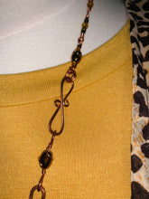 The Amber Autumn necklace