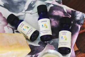 homemade nail and cuticle balm with essential oils