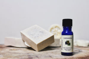 Day Four - Cardamom Loofah Soap