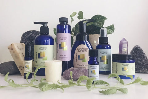 Lavender Garden Comfort Collection