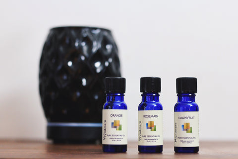 Aromavase, Orange, Rosemary and Grapefruit Diffuser Blend To Boost your energy