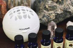 Portable diffuser AromaPearl with summer diffuser blend of essential oils