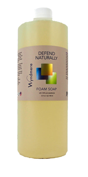 defend naturally foam soap refill