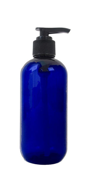 Plastic (PET) Bottle 8oz w/Lotion Pump - Bottles & Jars - Wyndmere Naturals