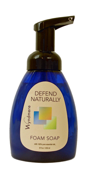 defend naturally foam soap