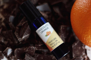 chocolate orange perfume roll on
