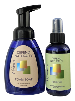 defend naturally foam soap and remedy 2 pack
