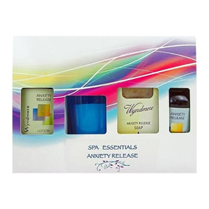 anxiety release spa essentials set