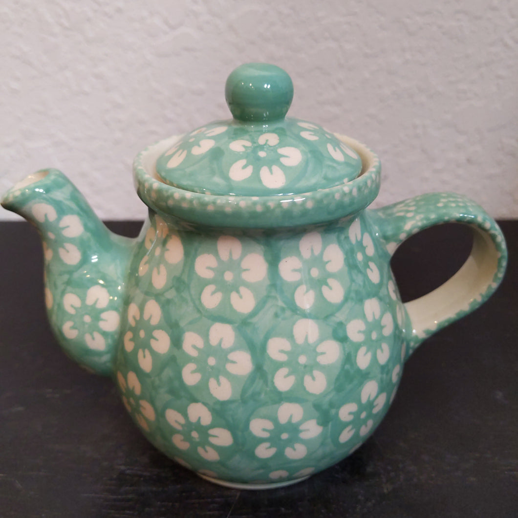 Tea for One Teapot Mint Blossom