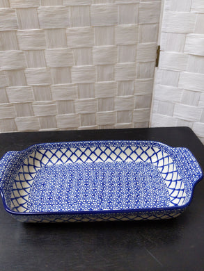 Wide handled tray
