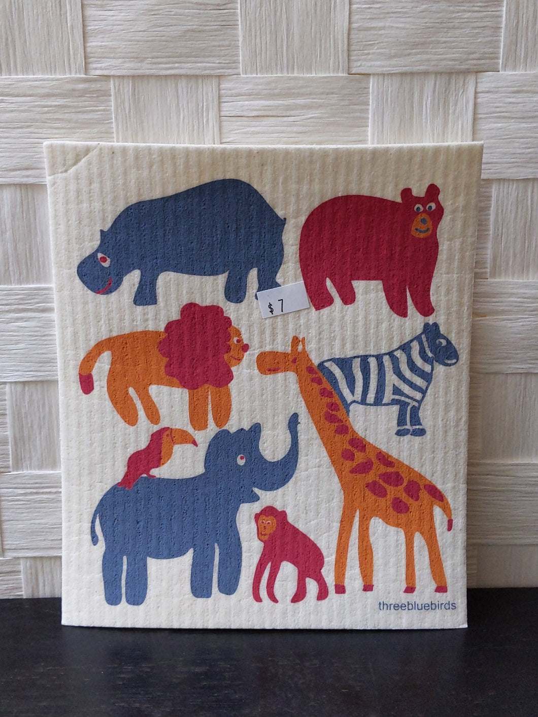 Zoo washcloth