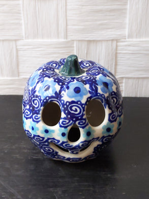 Andy Baby blue flower pumpkin