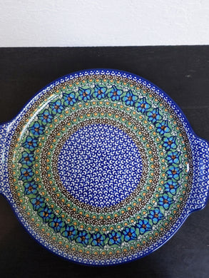 Unikat Large round tray with handles