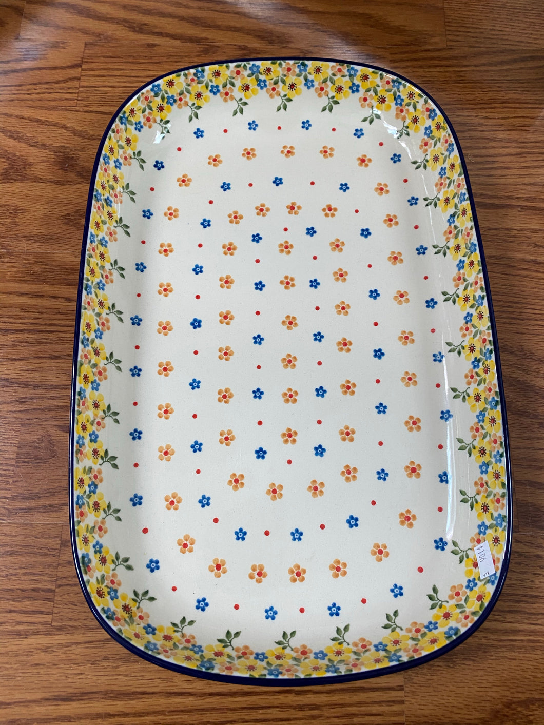 Sunshine large platter