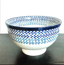 Traditional Medium Pedestal Serving Bowls (Icicle)