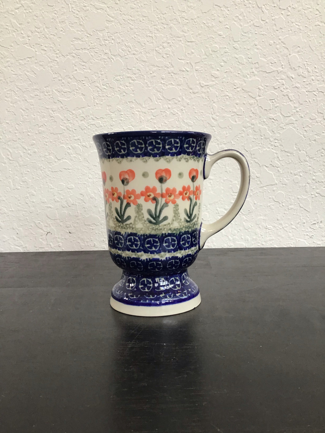 Standing cup(red flowers)