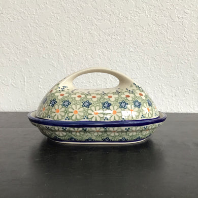 Butter Dish w/handle (Daisy Jane)