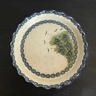 Pie Plate Art of the Feather