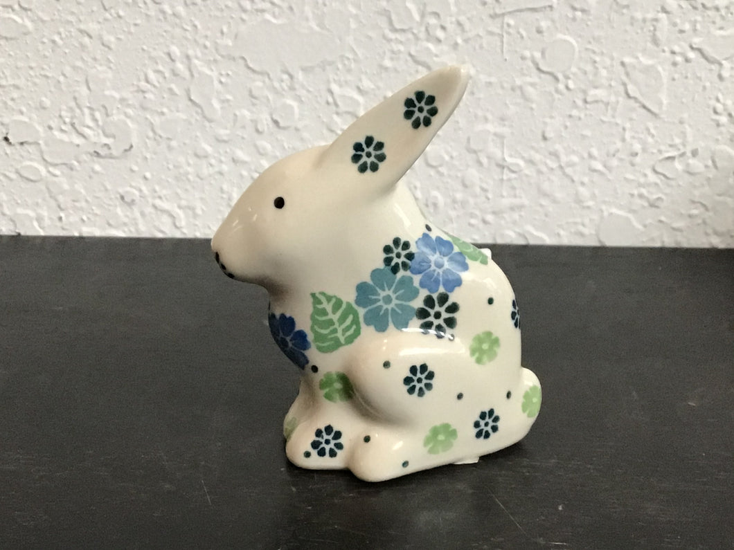 Light blue flower bunny
