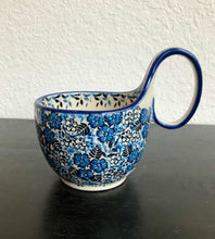 Soup Mug (Unikat Black and Blue)