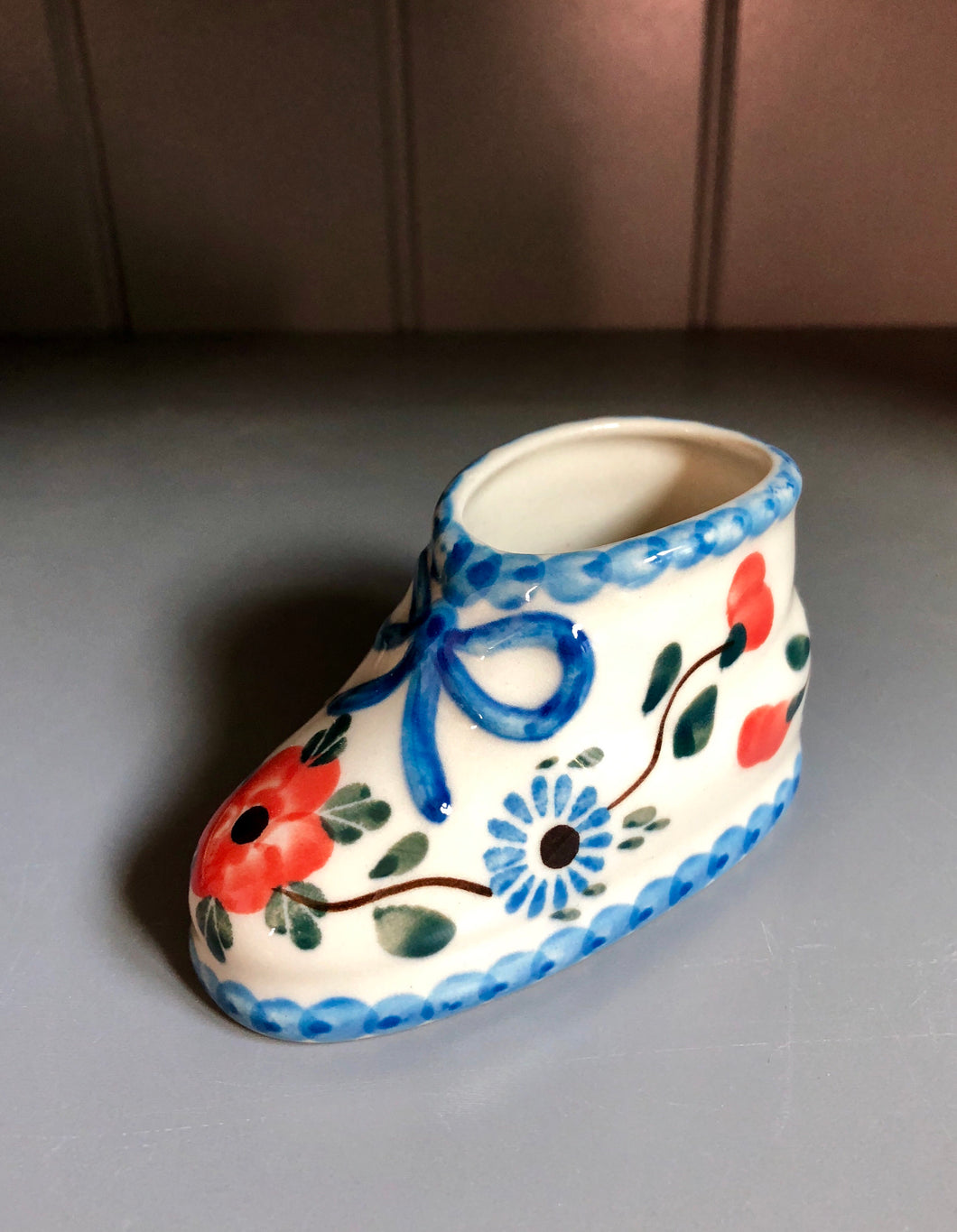 Baby Shoe Figurine