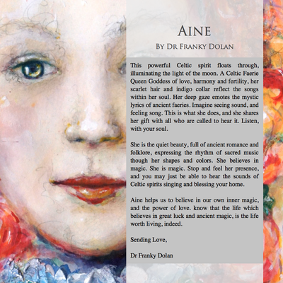 """Aine"" by Dr Franky Dolan"