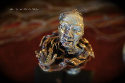 """Seeing God"" Sculpture by Dr Franky Dolan"