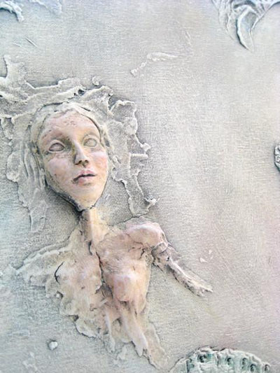 """Pale"" Inspirational Wall Sculpture by Dr Franky Dolan"