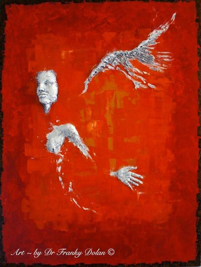 """Red Angel"" by Dr Franky Dolan"