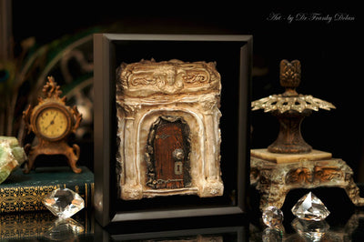 """Old Hollywood Manor"" Faerie Dream Door by Dr Franky Dolan"